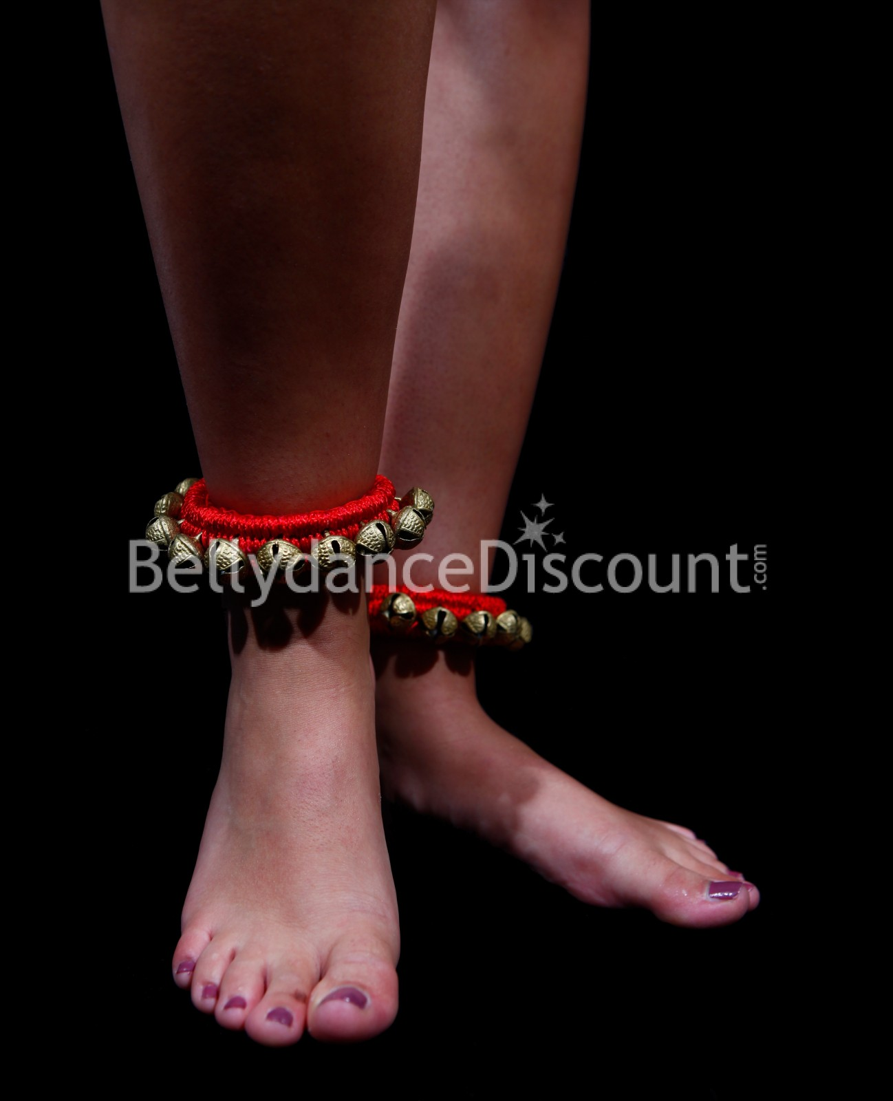 Ankle Bracelets With Bells For Indian Dance 1 Row