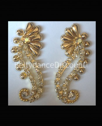 Set of 2 prestige bindis gold