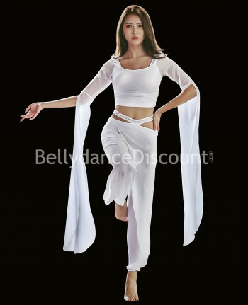 Dance outfit white top +  pants
