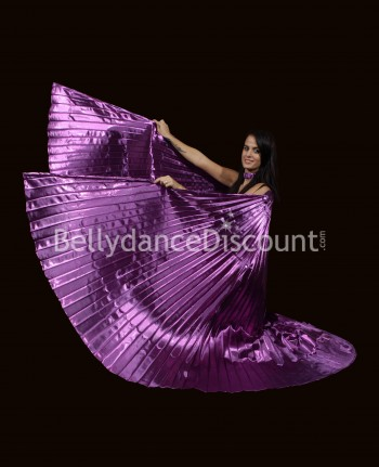 Opaque purple Bellydance Isis wings