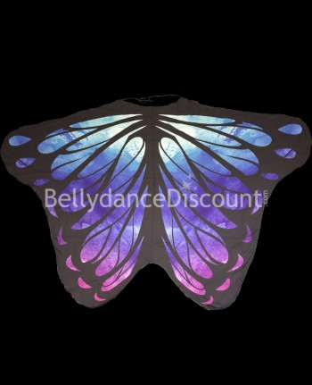 Butterfly wings blue purple