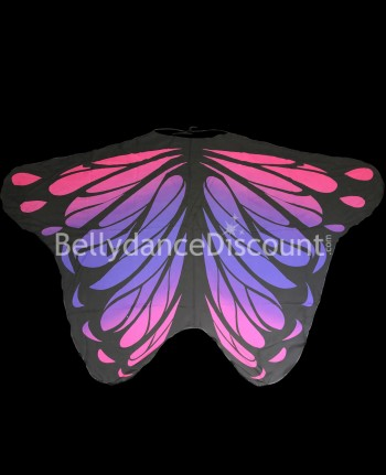 Butterfly wings pink purple