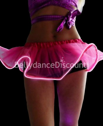 Pink light-up skirt