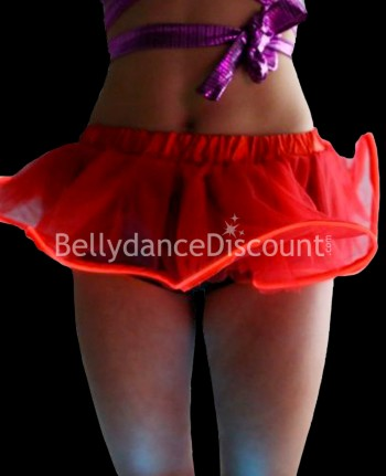 Red light-up skirt