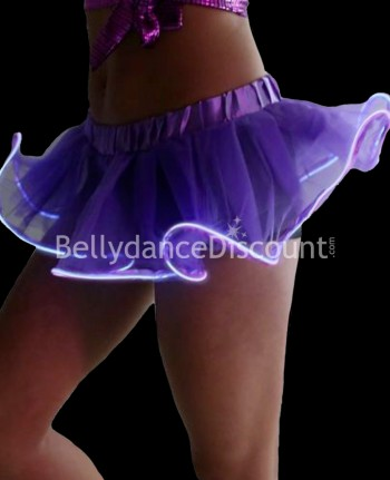 Purple light-up skirt