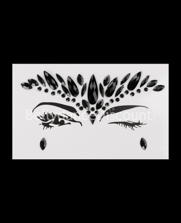 Strass Tatoo for the eyes black