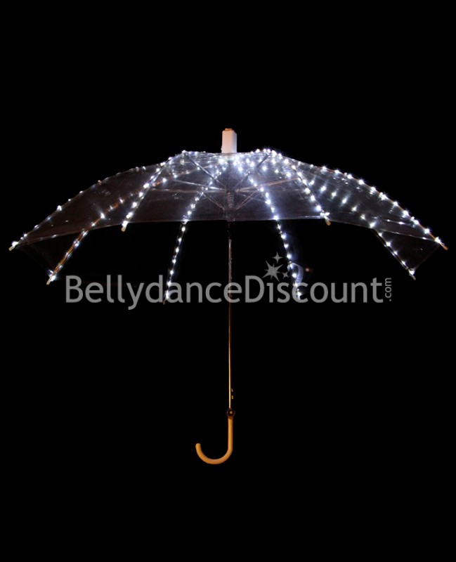Light up white umbrella
