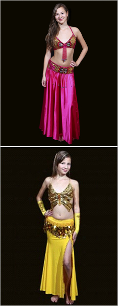 traje infantil disponible en BellydanceDiscount.com